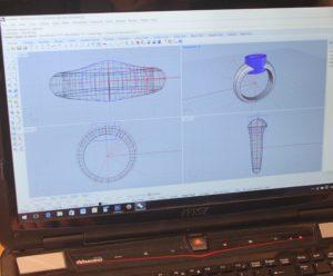 Entwurf mittels CAD