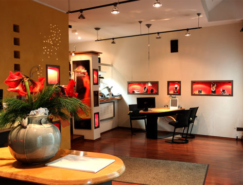 Geschäftsräume des Goldschmiede -Ateliers