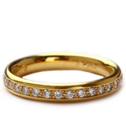 Memoire – Ring in Gold mit Brillanten